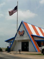 Old A-frame Whataburger in Lake Worth TX (Country Squire) Tags: lake geotagged texas tx worth geotag whataburger metadata aframe