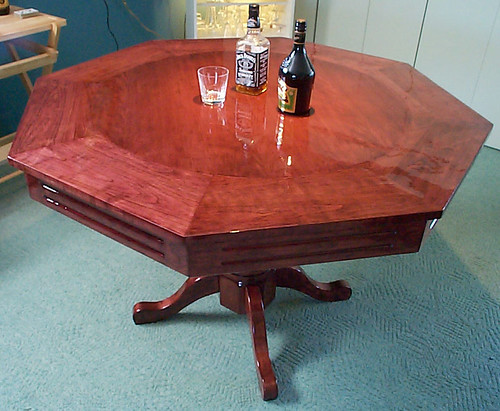 Table de poker (côté table)