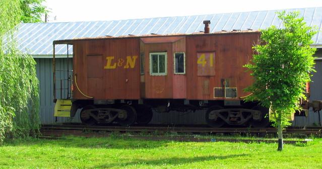 Hartsville Depot L&N Caboose