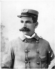 City Letter Carrier (Smithsonian Institution) Tags: portrait soldier war uniform postoffice movember moustache usps mustache mailman pocketwatch lettercarrier smithsonianinstitution usmail nationalpostalmuseum c1880