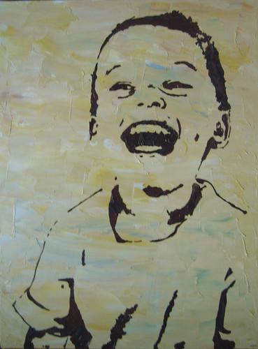 Oils - Adrienne's son