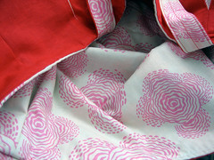 Pleated Beauty Bag detail