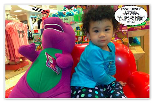 Wake Up Barney!