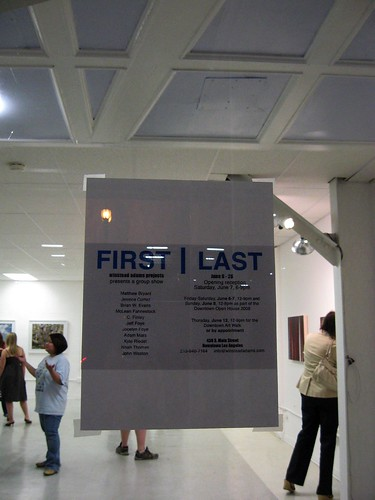 First/Last Gallery