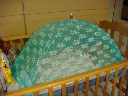 Q比的蚊帳