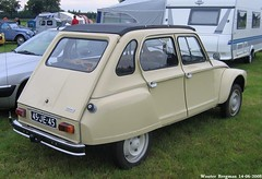Citron Dyane 1976 (XBXG) Tags: auto old france classic netherlands car vintage french automobile nederland citron voiture 2cv years nl paysbas 60 dyane ancienne franaise sevenum citrondyane 45je45 sidecode3