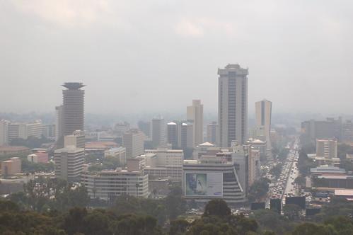 Smog over Nairobi