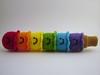 6 Scoop Rainbow Happy Happy Ice Cream Cone (Yummy Pancake) Tags: rainbow crochet plush icecream plushie amigurumi etsyhookers