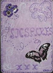 Spring inspires butterfly kisses (basketing (Karen)) Tags: atc doodled