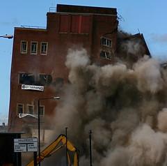 Bye bye baby! (smlp.co.uk) Tags: newcastle destruction explosion demolition collapse northeast brownale newcastleupontyne newcastlebrewery