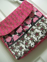 Tina Givens Messenger (pinkpaisley) Tags: purse tina messenger etsy givens