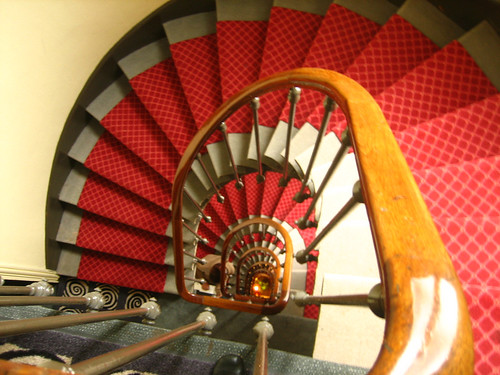 Staircase at the Hotel Odessa