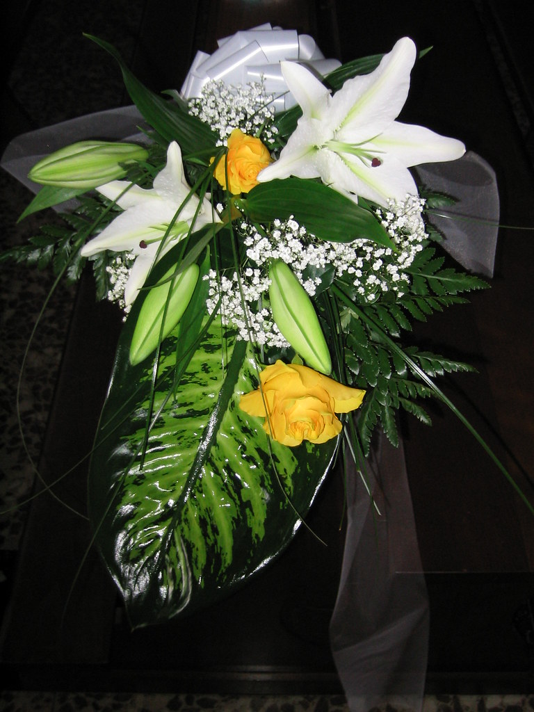 Bouquet Sposa Lilium.The World S Best Photos Of Edera And Matrimonio Flickr Hive Mind