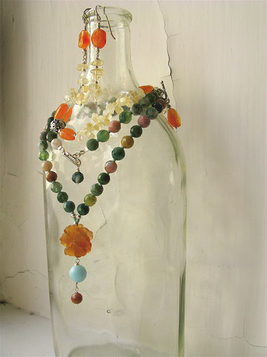 Jewelled bottle