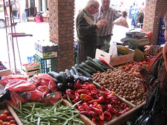 """Green Grocer in the Market • <a style=""""font-size:0.8em;"""" href=""""http://www.flickr.com/photos/48277923@N00/2622952430/"""" target=""""_blank"""">View on Flickr</a>"""