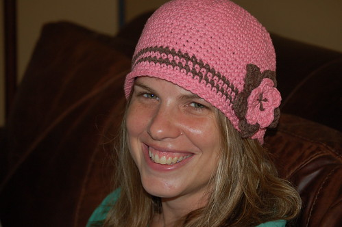 Amy Renee and her COOL hat!