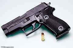 Sig Sauer P6 (9mm) (CCBImages) Tags: gun pistol 9mm p6 sigsauer p225 curtisbullock