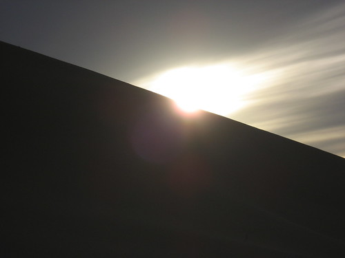 Sunset at the dune