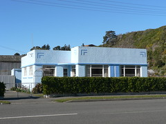 Art Deco House, Kaikoura, New Zealand
