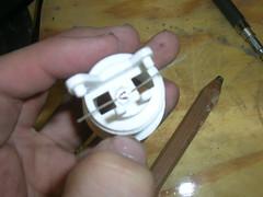 LED inserted
