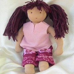 "I3 inch waldorf doll by oritdotandolls  ""         (orit dotan) Tags: sculpture wool toys soft handmade fairies   naturalkids  waldorfdolls     oritdotandolls    waldorfeducation  privatelessonstheraphy"