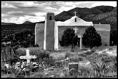 Golden Church (Lunchbox PhotoWorks) Tags: new church d50 mexico golden nikon ghost nm towns top20nm nmtop20