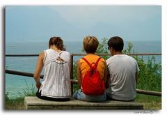 My family.....lato B (Mauro Bettarel) Tags: family italy lake water colors italia famiglia acqua colori sirmione lagodigarda contemplazione llovemypics