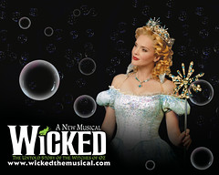 Wicked, the Broadway Sensation.