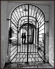 ROTHE HOUSE. KILKENNY, IRELAND. (Edward Dullard Photography. Kilkenny, Ireland.) Tags: kilkenny ireland blackandwhite bw silhouette photographic eire tudor emeraldisle irlanda ierland rothehouse dullard cillchainnigh edwarddullard kilkennyarchaeologicalsociety societyedward