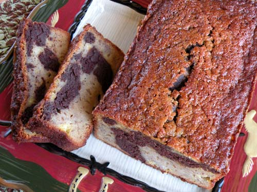 Black White Banana Loaf