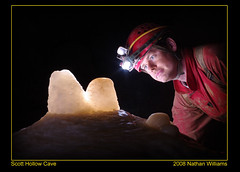 Formation Illumination (Realms(Nathan Williams)) Tags: cave caving caver nathanwilliams scotthollow