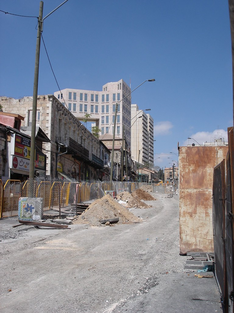 Digging up Jaffa Street 1