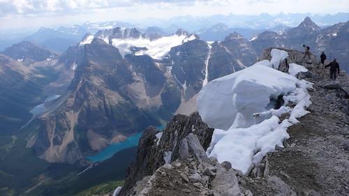 fay glacier and moraine lake