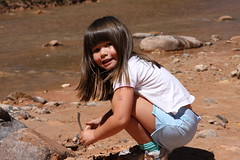 Cutie at the riverbank (newsbites01) Tags: faces rivers capitolreef nationalparks