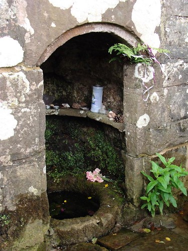 Kirsty Hall, photograph of The Virtuous Well, Trellech