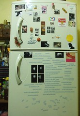 fridge and poetry