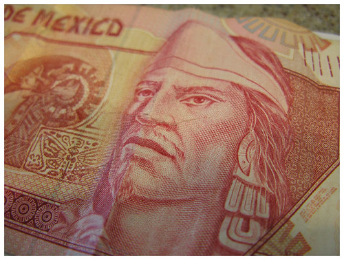 Mexican Pesos, by www.richardcawood.com