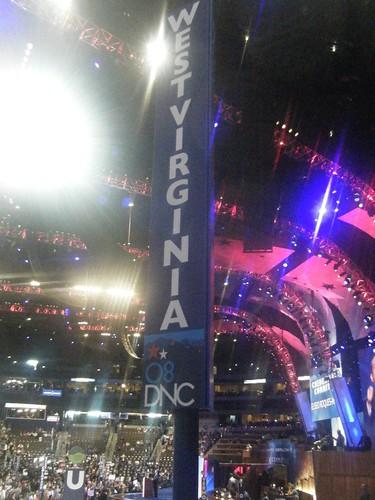 WV DNC Sign