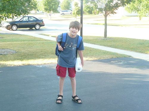 Sam First Day of School