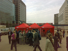 Muller Stand - Canary Wharf
