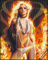 Britney Spears Fire Esquire ( Omar Rodriguez V.) Tags: spears popart britney blend artwort slave4britney