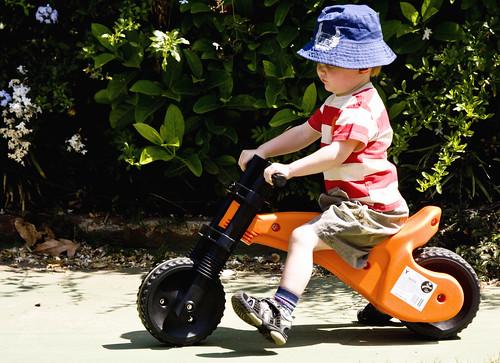 2836380026 75ef457aa4 Bakkie and Motorbike Collide