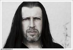 Greg Mackintosh (Ronan THENADEY) Tags: portrait festival rock metal rockstar guitar gothic paradiselost backstage guitarist guitare hellfest lowsaturation loge guitariste gregmackintosh 40d ronanthenadey hellfest2008