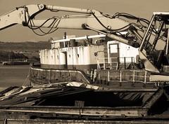 IMG_39 (Fatdeeman) Tags: broken mod rusty portsmouth scrapyard breakers sunken scrap derelict pounds larc gosport tipner poundsscrapyard poundsmarine