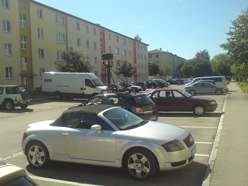 StreetView Car Augsburg