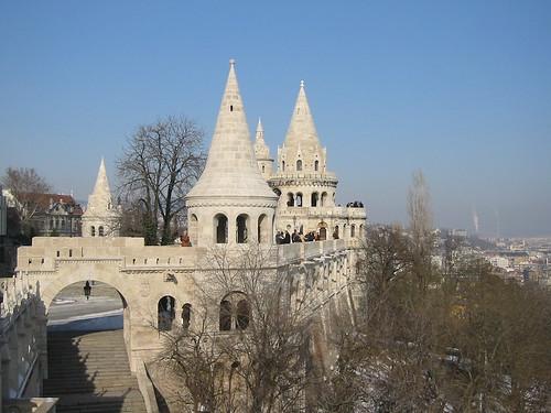 Fisherman's Bastion Budapest Hungary