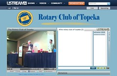 The Rotary Club of Topeka on Ustream.TV