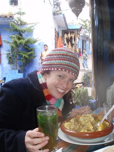 Jessica Mullins in Morocco
