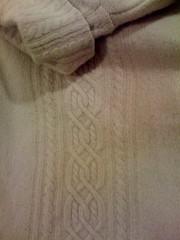 Wool/angora blend