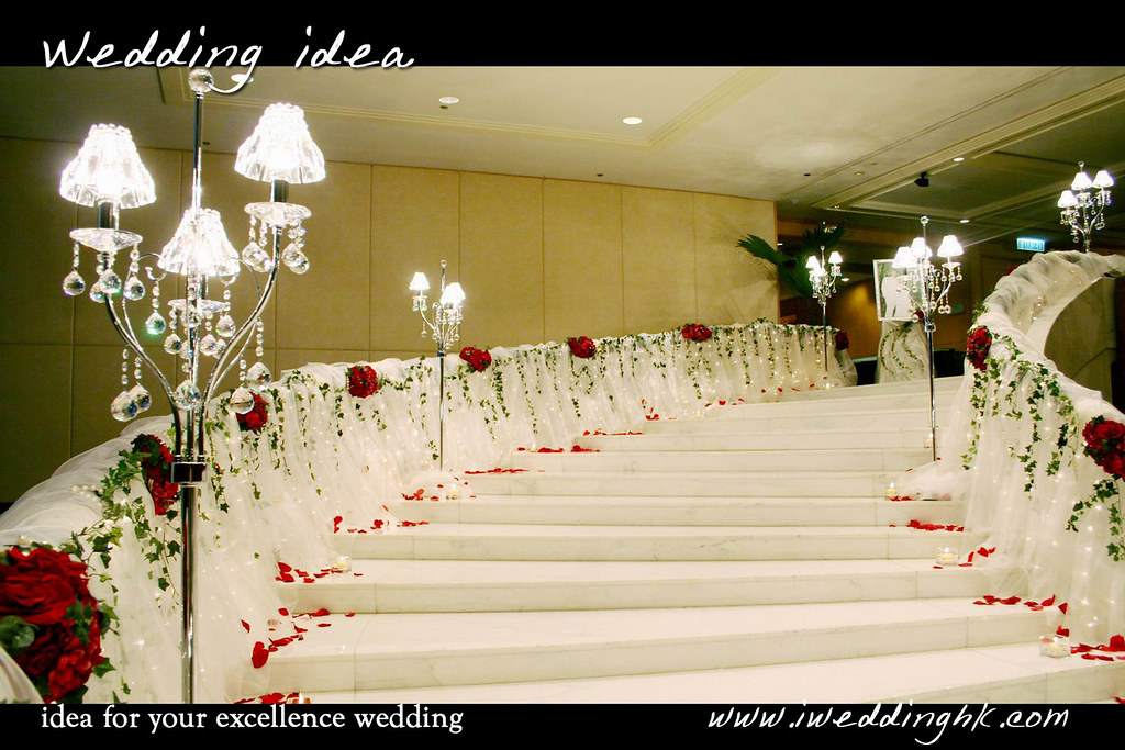 The worlds best photos by wedding idea weddingideagmail fresh flower and crystal floor lamp for stairs decoration in intercontinental wedding idea weddingidea junglespirit Choice Image